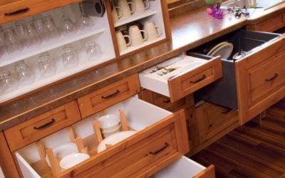 Specialty Kitchen Cabinet Storage