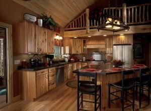 Cabin Kitchen 12